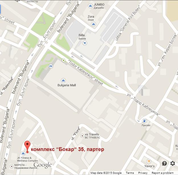 Карта на местоположението